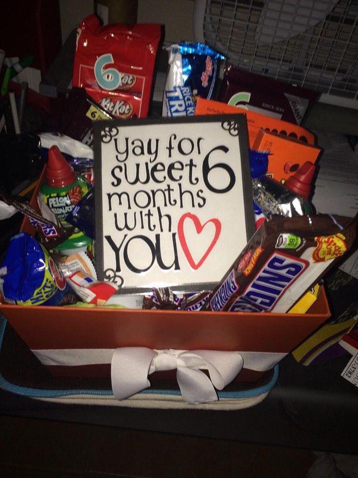 Best ideas about Boyfriend Anniversary Gift Ideas . Save or Pin Best 25 6 month anniversary ideas on Pinterest Now.