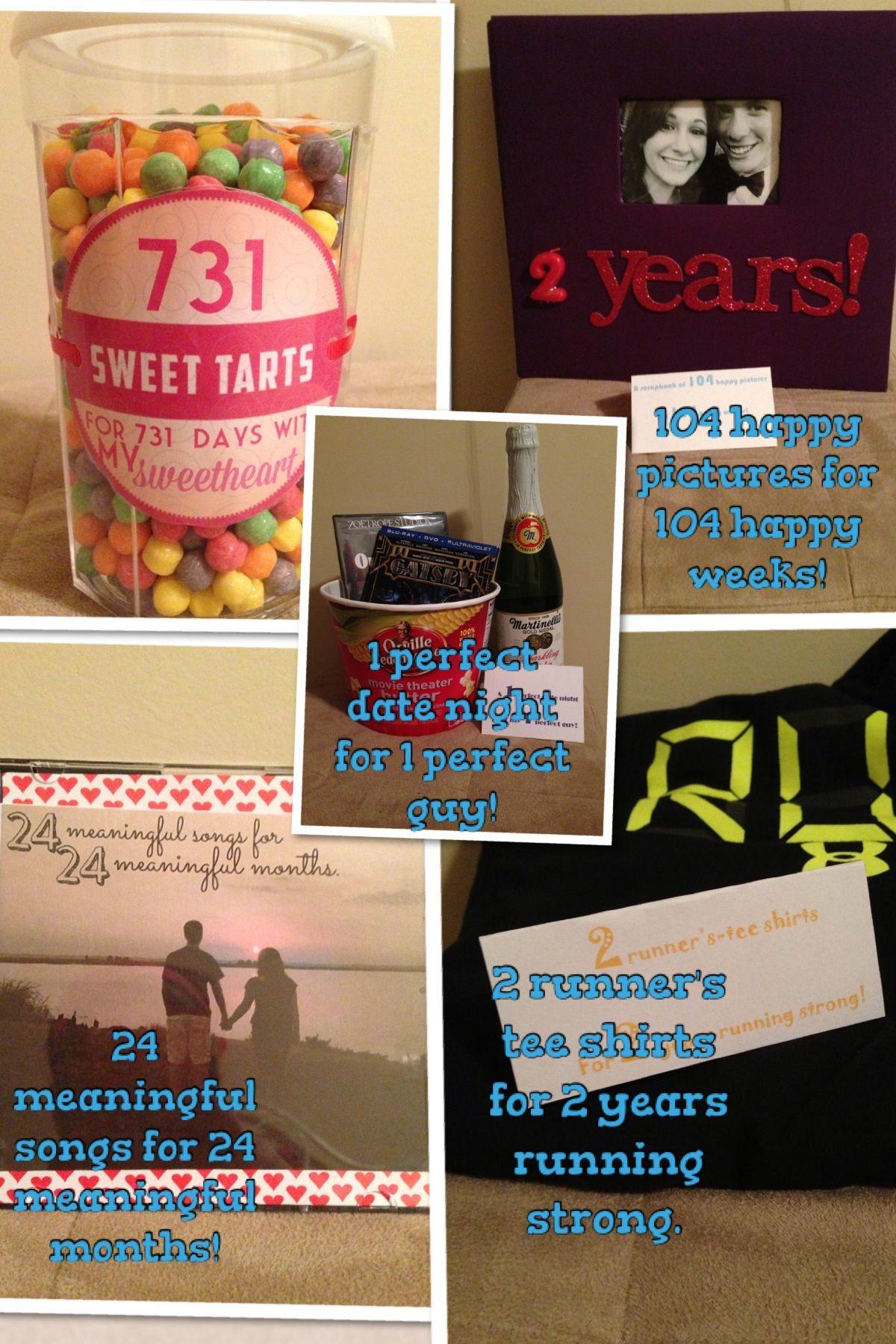 Best ideas about Boyfriend Anniversary Gift Ideas . Save or Pin 2 year anniversary for my boyfriend Now.