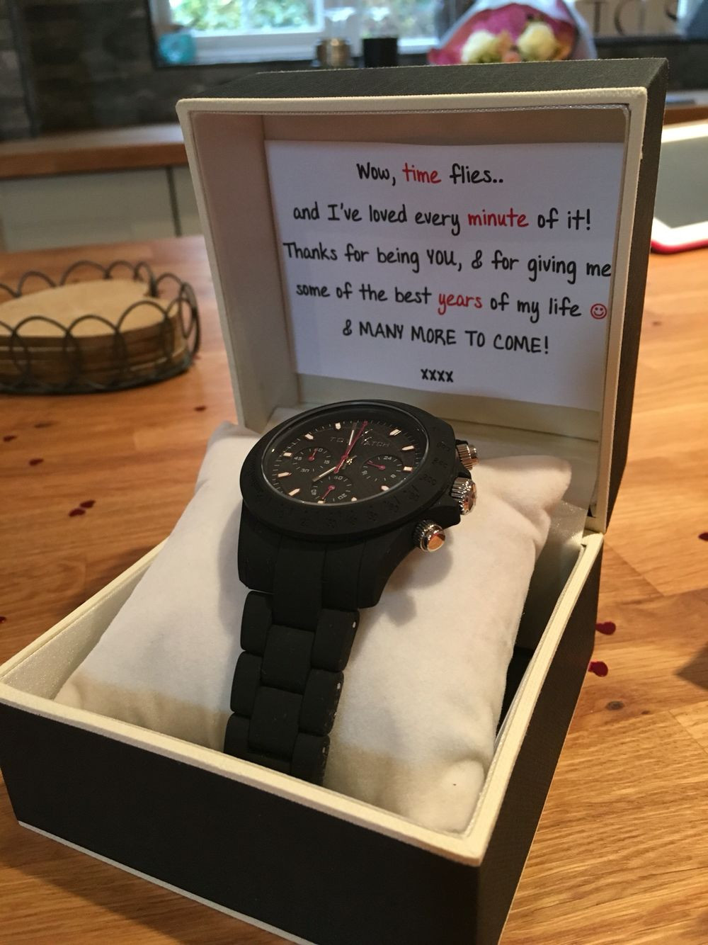 Best ideas about Boyfriend Anniversary Gift Ideas . Save or Pin 3 year anniversary t for my boyfriend of 3 years Watch Now.
