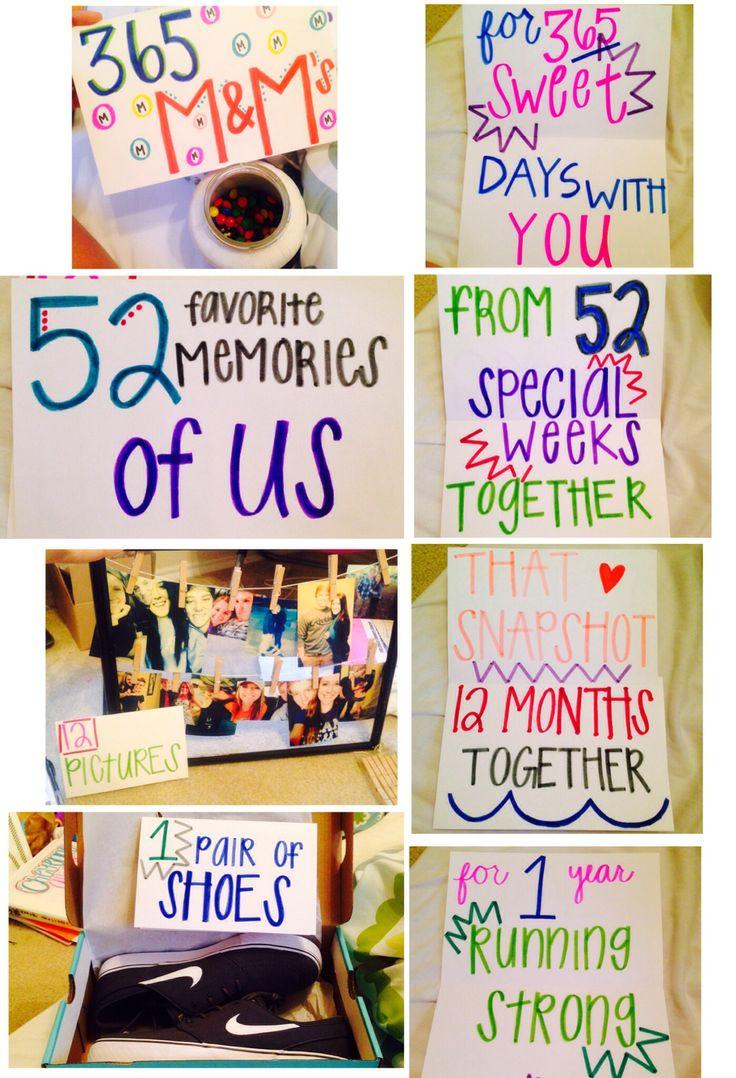 Best ideas about Boyfriend Anniversary Gift Ideas . Save or Pin 1000 ideas about Boyfriend Anniversary Gifts on Pinterest Now.