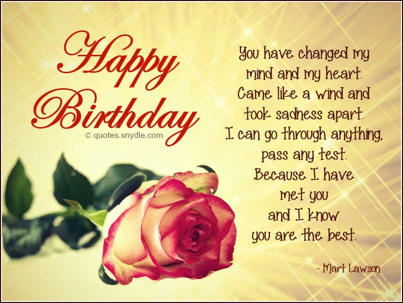 Best ideas about Boyfriend Birthday Quotes . Save or Pin Birthday Quotes for Boyfriend Quotes and Sayings Now.