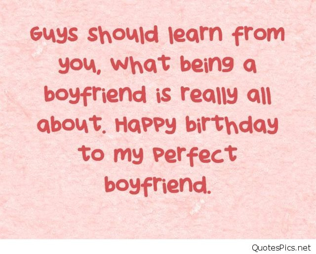 Best ideas about Boyfriend Birthday Quotes . Save or Pin Happy birthday wishes cards for boyfriend Now.