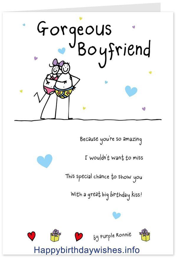 Best ideas about Boyfriend Birthday Quotes . Save or Pin Best 25 Birthday wishes for boyfriend ideas on Pinterest Now.