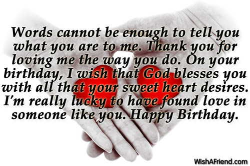Best ideas about Boyfriend Birthday Quotes . Save or Pin Birthday Wishes For Boyfriend Now.