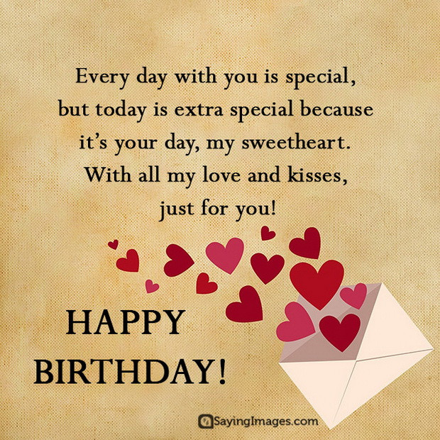Best ideas about Boyfriend Birthday Quotes . Save or Pin Sweet Happy Birthday Wishes for Boyfriend Now.