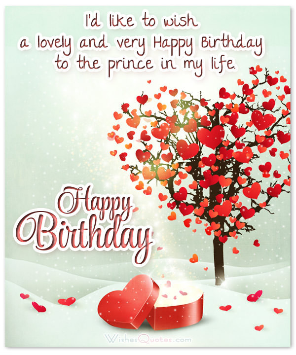 Best ideas about Boyfriends Birthday Wishes . Save or Pin Cute Birthday Wishes for your Charming Boyfriend Now.