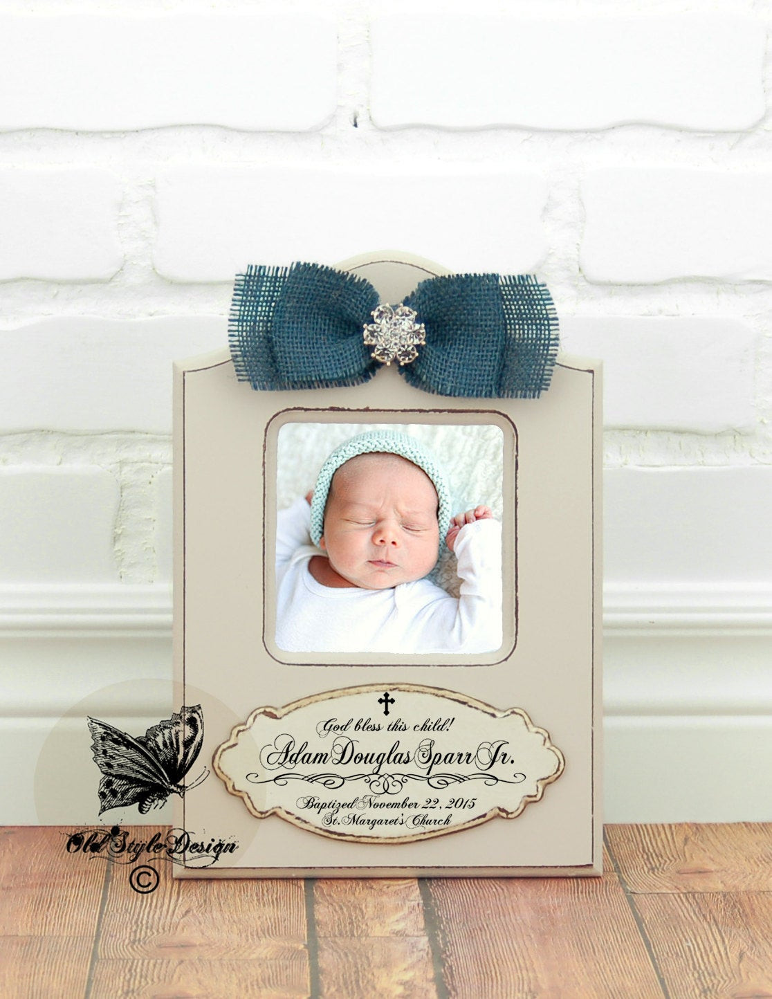 Best ideas about Boys Christening Gift Ideas . Save or Pin Baptism Gift BOY Christening Gift Boy Personalized picture Now.
