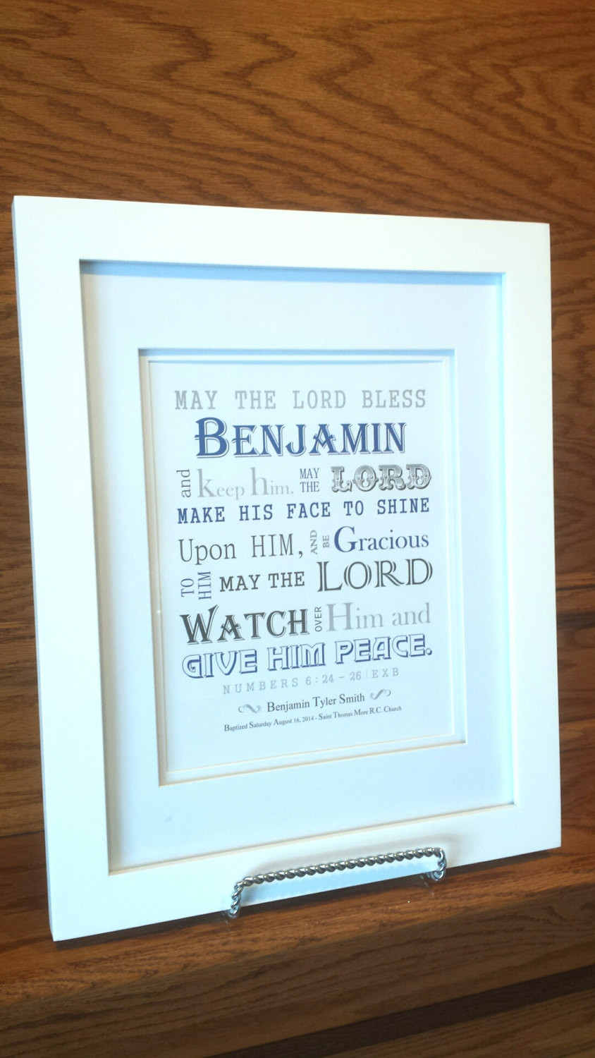 Best ideas about Boys Christening Gift Ideas . Save or Pin Baby Boy Baptism Gift Christening Gift Personalized Now.