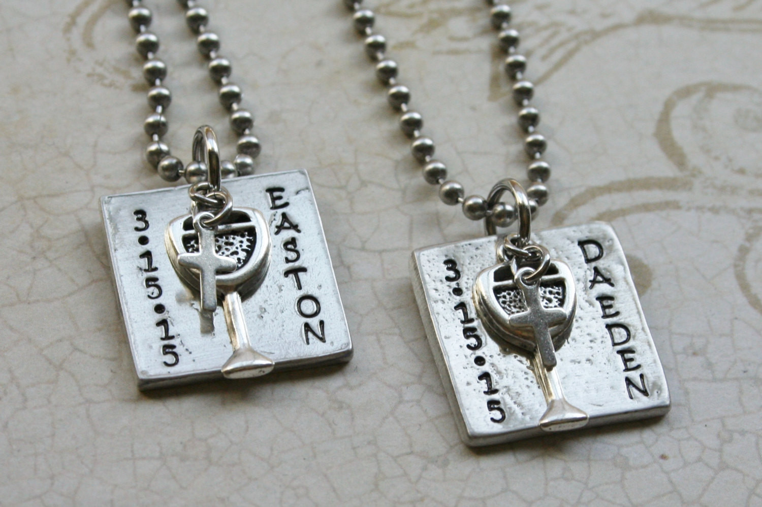 Best ideas about Boys First Communion Gift Ideas . Save or Pin First munion Necklace for Boys Gift First munion Now.