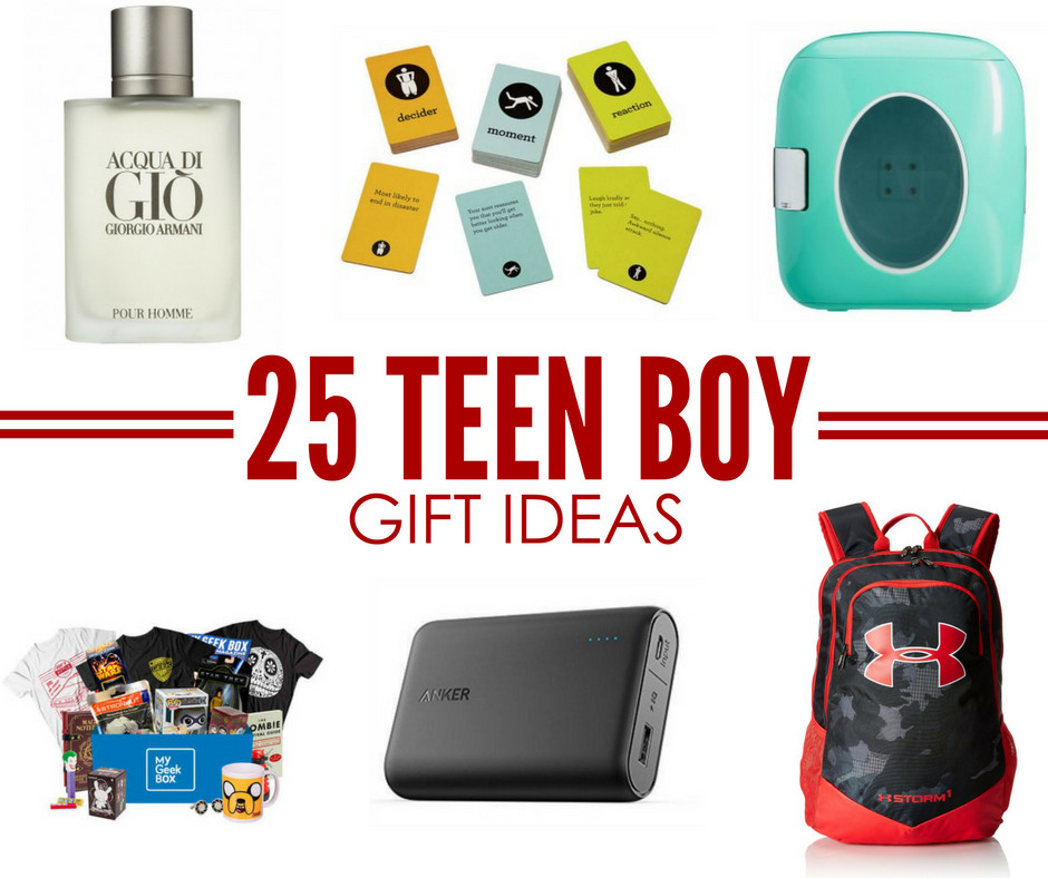 Best ideas about Boys Gift Ideas . Save or Pin 25 Teen Boy Gift Ideas Perfect for Christmas or Birthday Now.