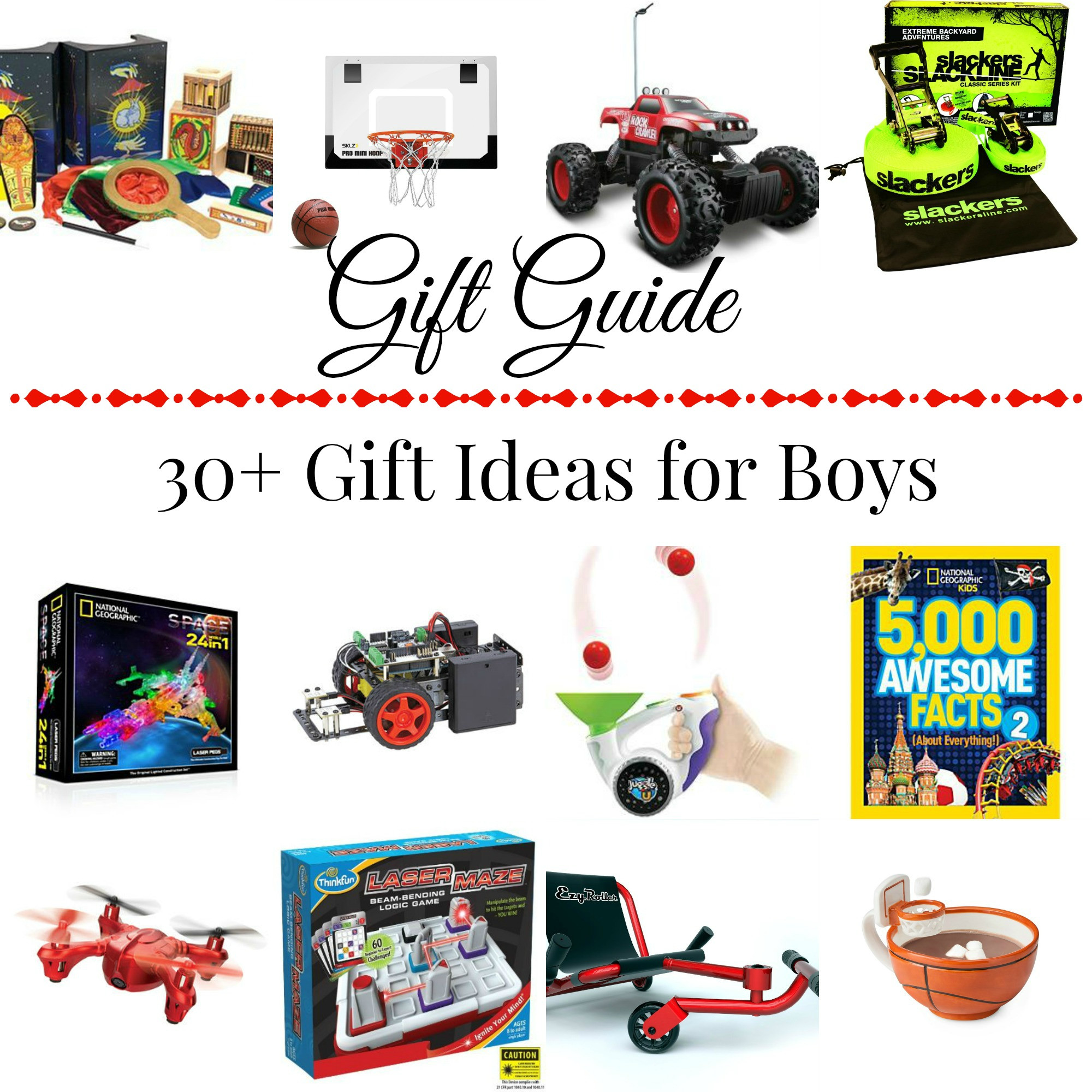 Best ideas about Boys Gift Ideas . Save or Pin 30 Gift Ideas for Boys Now.
