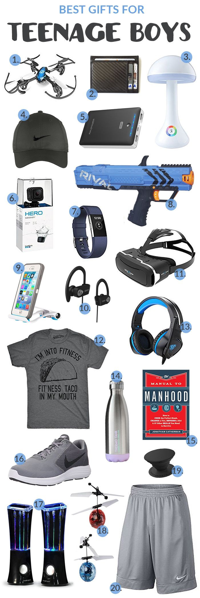 Best ideas about Boys Gift Ideas . Save or Pin Best Gifts for Teenage Boys Now.