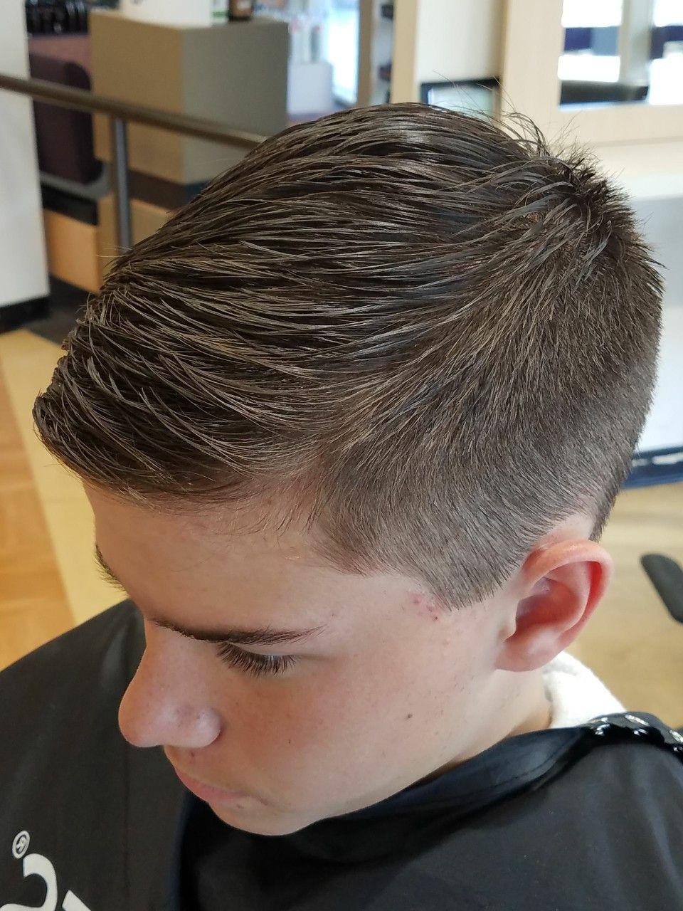 Best ideas about Boys Hair Cut 2019 . Save or Pin Teen boy haircut fade Boys in 2019 Now.