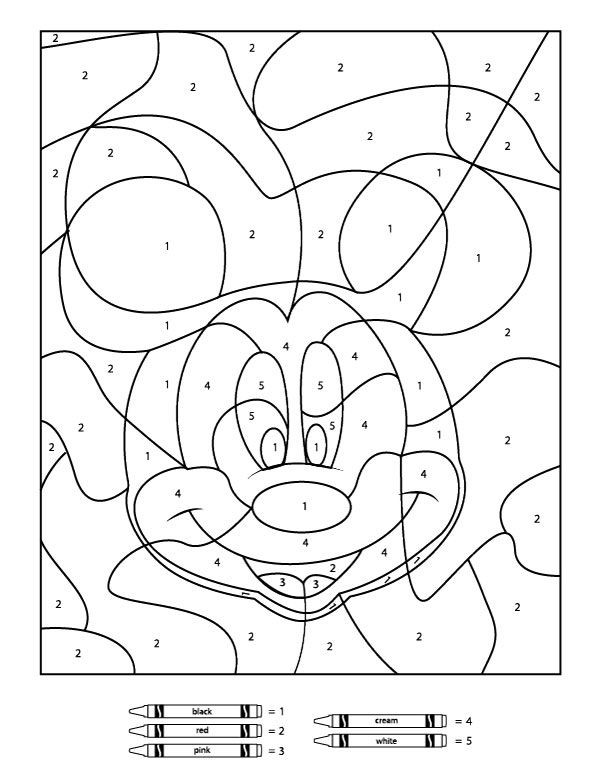 Best ideas about Boys Trace Printable Coloring Sheets . Save or Pin Your Children Will Love These Free Disney Color By Number Now.