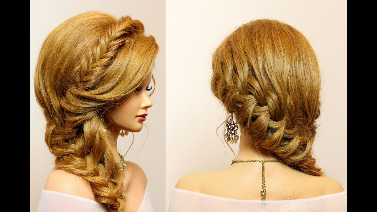 Best ideas about Braid Hairstyles For Long Hair Step By Step . Save or Pin Party hairstyle for long hair tutorial with braids Now.