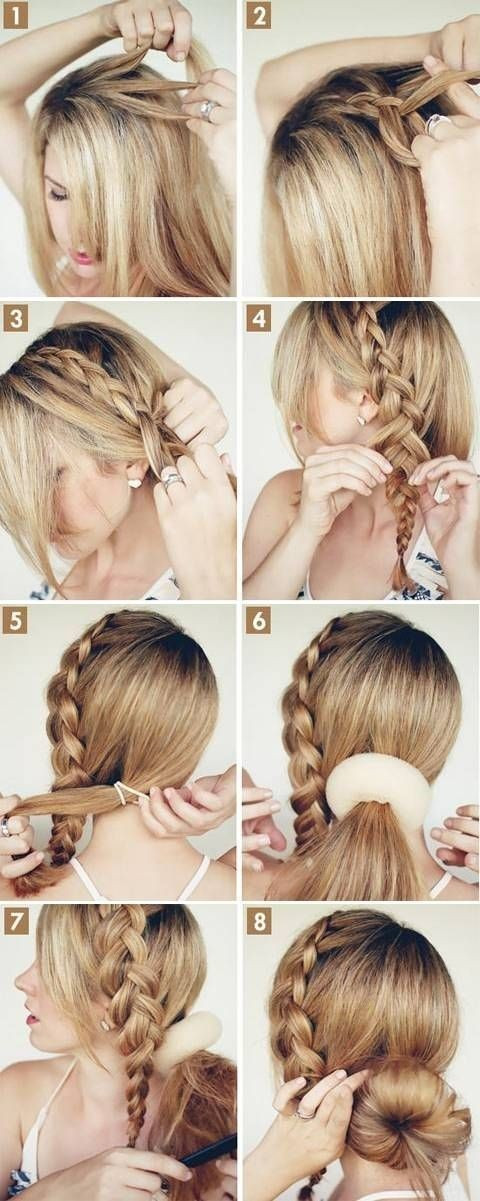 Best ideas about Braid Hairstyles For Long Hair Step By Step . Save or Pin 15 Cute hairstyles Step by Step Hairstyles for Long Hair Now.