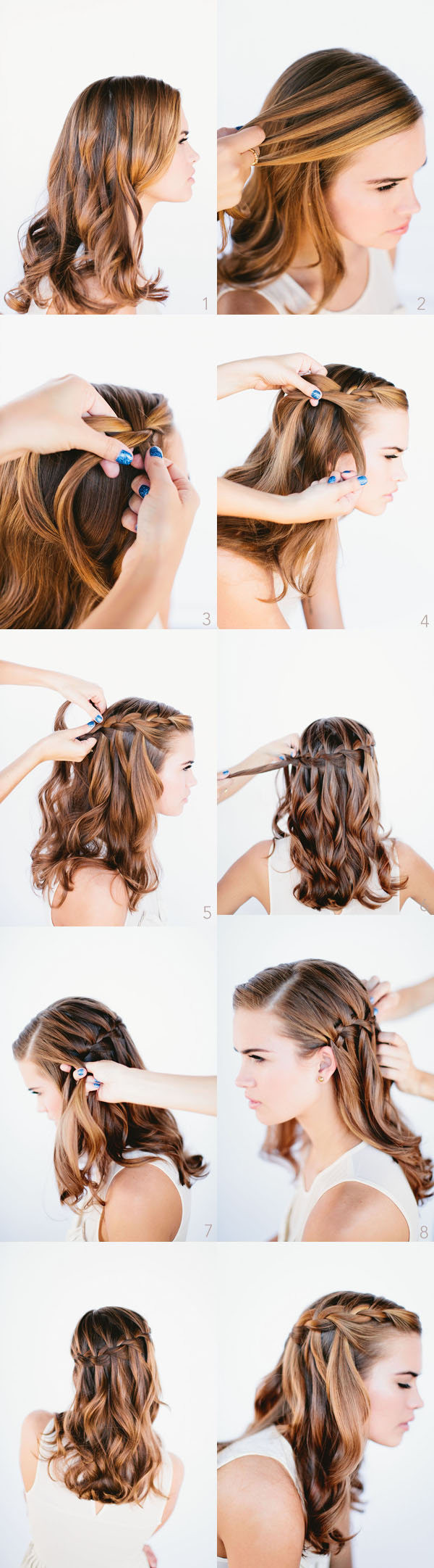 Best ideas about Braid Hairstyles For Long Hair Step By Step . Save or Pin 20 Beautiful Hairstyles for Long Hair Step by Step Now.