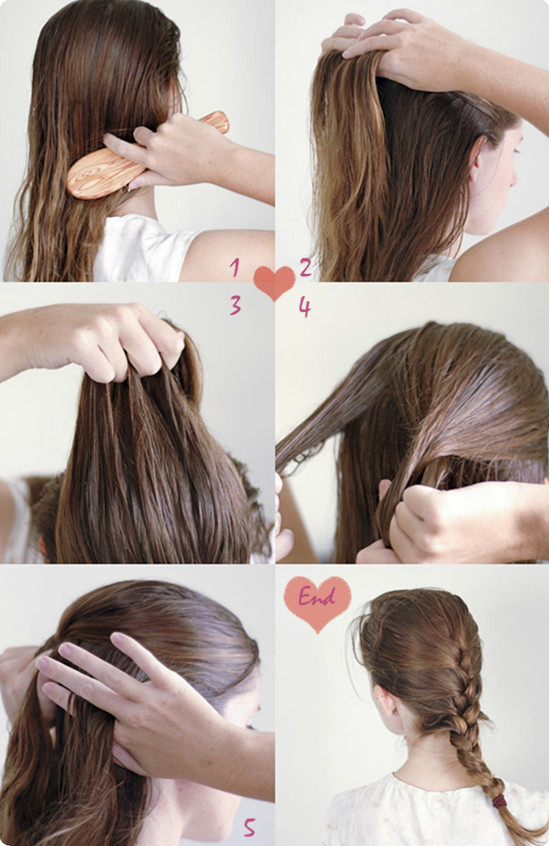 Best ideas about Braid Hairstyles For Long Hair Step By Step . Save or Pin 9 Easy and Cute French Braided Hairstyles for Daily Now.