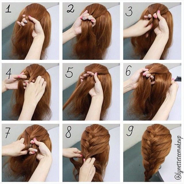 Best ideas about Braid Hairstyles For Long Hair Step By Step . Save or Pin hairstyles for long hair braids steps Google Search Now.