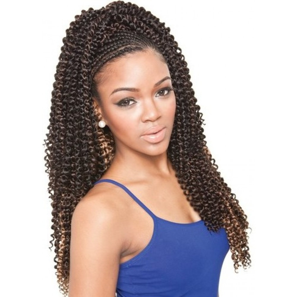 Best ideas about Braid Weave Hairstyles . Save or Pin Isis Collection Caribbean Bundle Braids – Cork Screw Now.