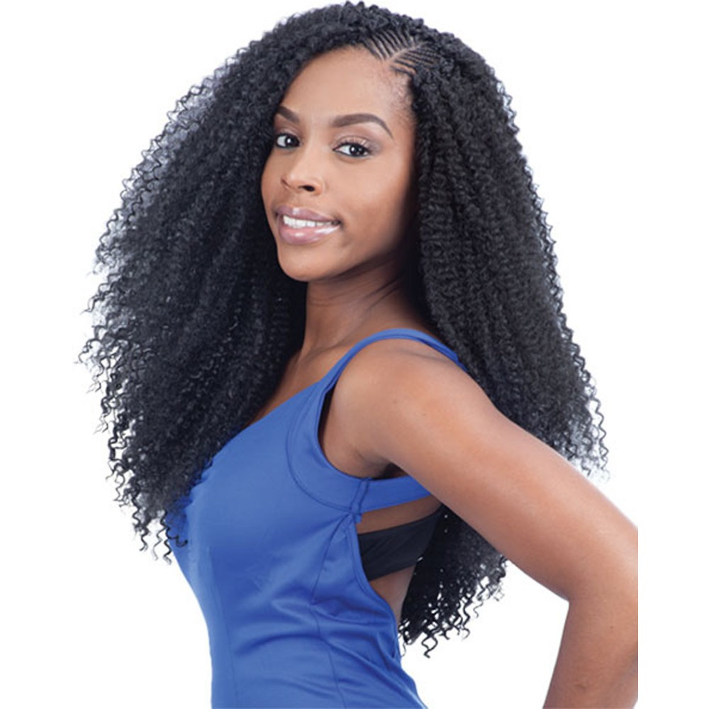 Best ideas about Braid Weave Hairstyles . Save or Pin FreeTress Braids – Kinky Bohemian Braid Now.