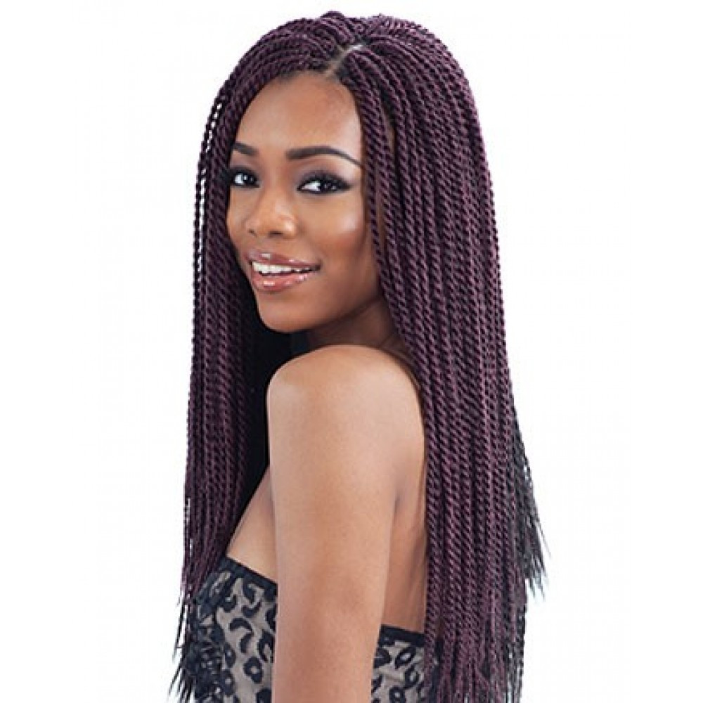Best ideas about Braid Weave Hairstyles . Save or Pin FreeTress Braids – Senegalese Twist Small Now.