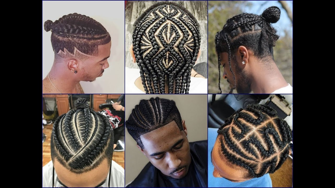 Best ideas about Braided Mens Hairstyles . Save or Pin Top 30 Cool African American Men's Braids Hairstyles 2018 Now.