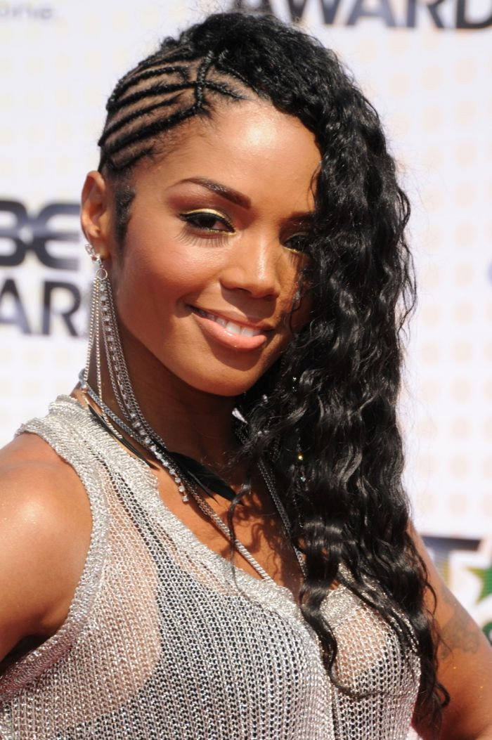 Best ideas about Braids Hairstyle For Black Ladies . Save or Pin Curly Braided Mohawk hair Pinterest Now.