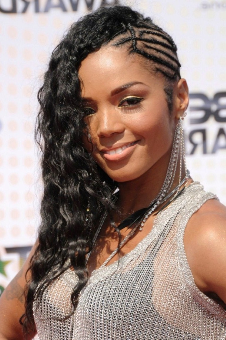 Best ideas about Braids Hairstyle For Black Ladies . Save or Pin braids for long hair black women braided mohawk hairstyle Now.