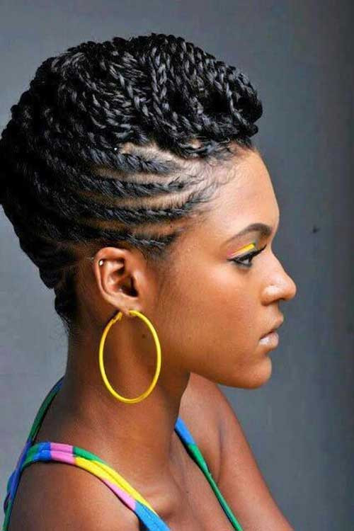 Best ideas about Braids Hairstyle For Black Ladies . Save or Pin Braids for Black Women with Short Hair Now.