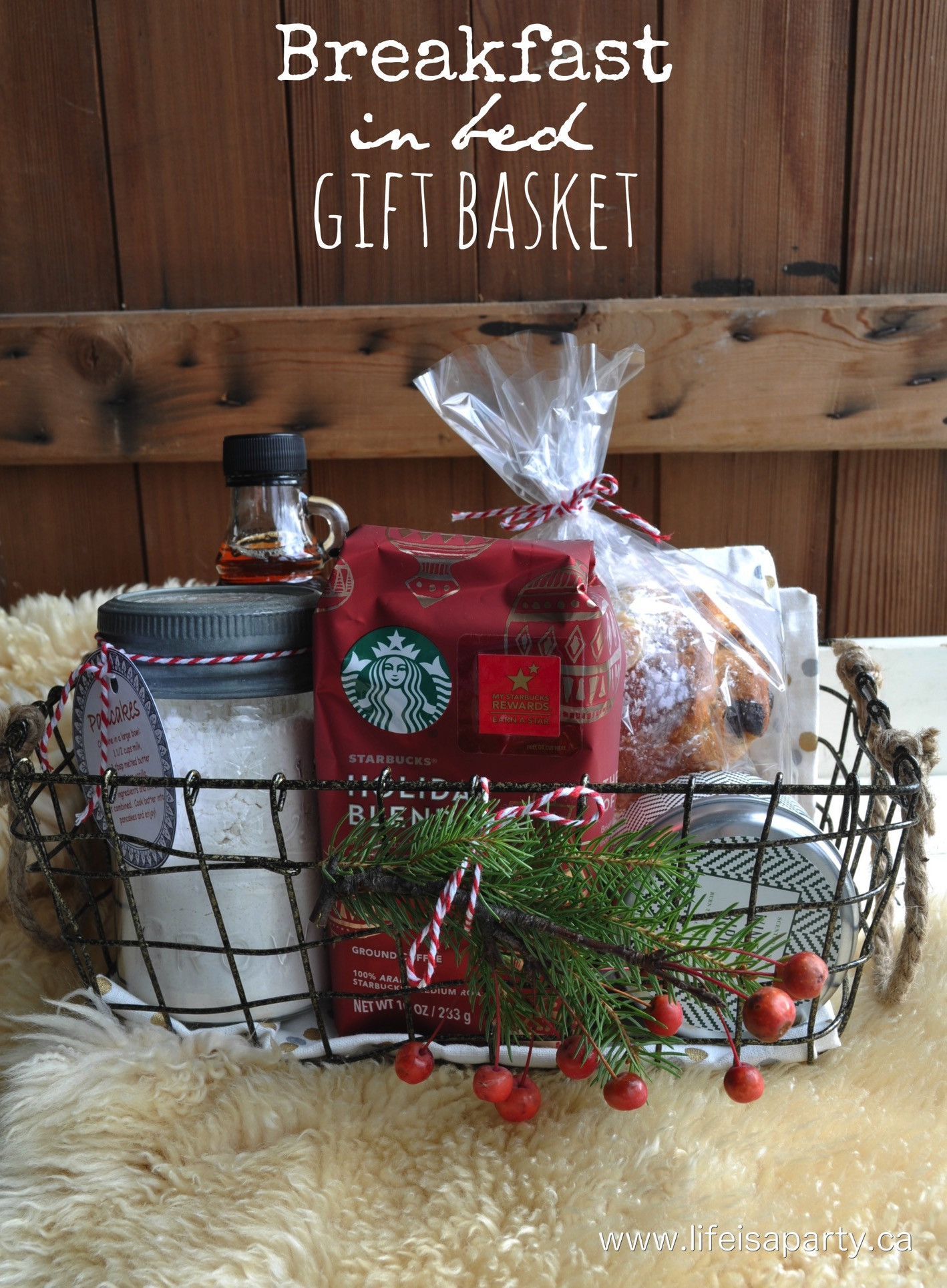 Best ideas about Breakfast Gift Basket Ideas . Save or Pin DIY Gift Basket Ideas The Idea Room Now.