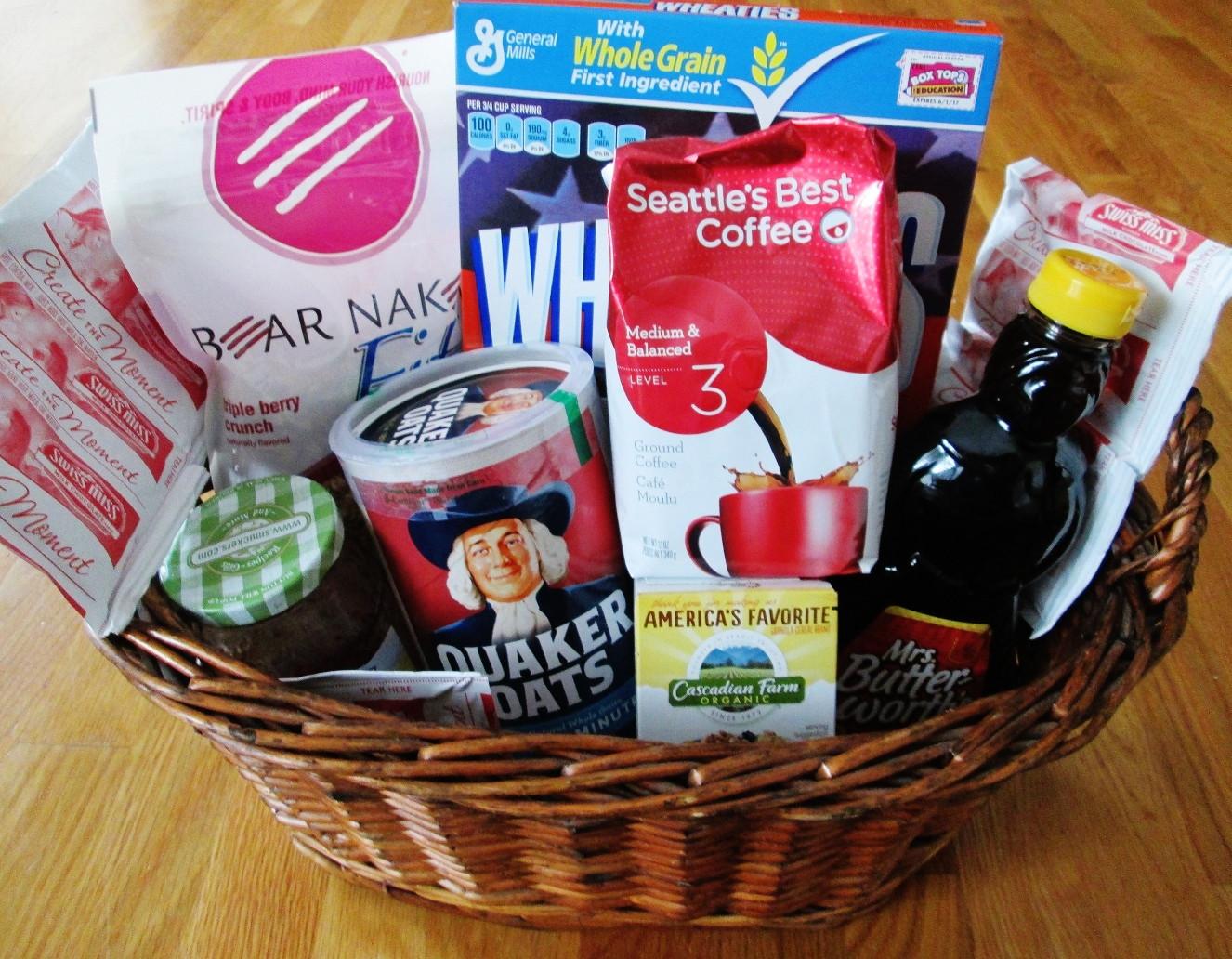 Best ideas about Breakfast Gift Basket Ideas . Save or Pin Breakfast Gift Basket – Homemaking Mom Now.