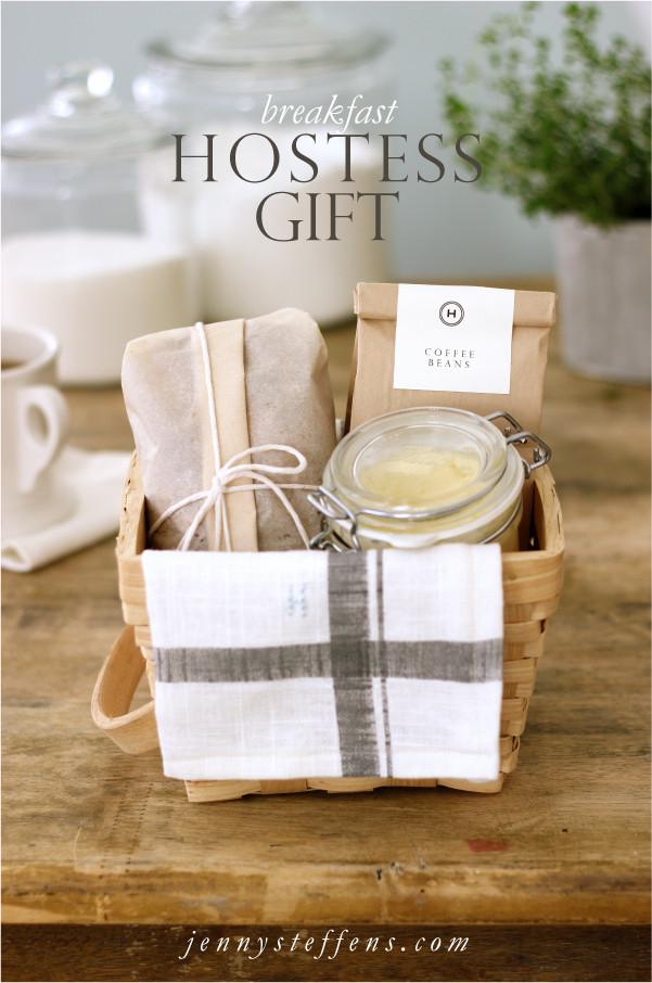 Best ideas about Breakfast Gift Basket Ideas . Save or Pin Jenny Steffens Hobick Breakfast Hostess Gift Now.