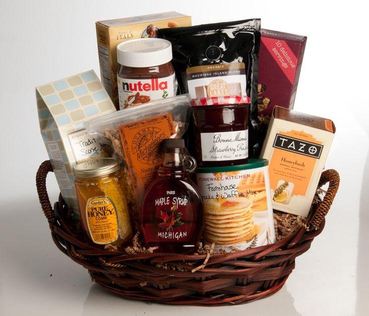 Best ideas about Breakfast Gift Basket Ideas . Save or Pin 1000 images about breakfast t basket on Pinterest Now.
