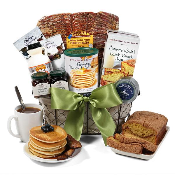 Best ideas about Breakfast Gift Basket Ideas . Save or Pin Breakfast Gift Basket Deluxe by GourmetGiftBaskets Now.