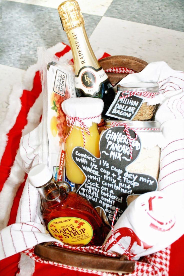 Best ideas about Breakfast Gift Basket Ideas . Save or Pin 1000 ideas about Breakfast Gift Baskets on Pinterest Now.