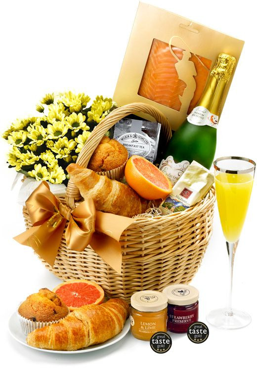 Best ideas about Breakfast Gift Basket Ideas . Save or Pin Best 25 Breakfast t baskets ideas on Pinterest Now.