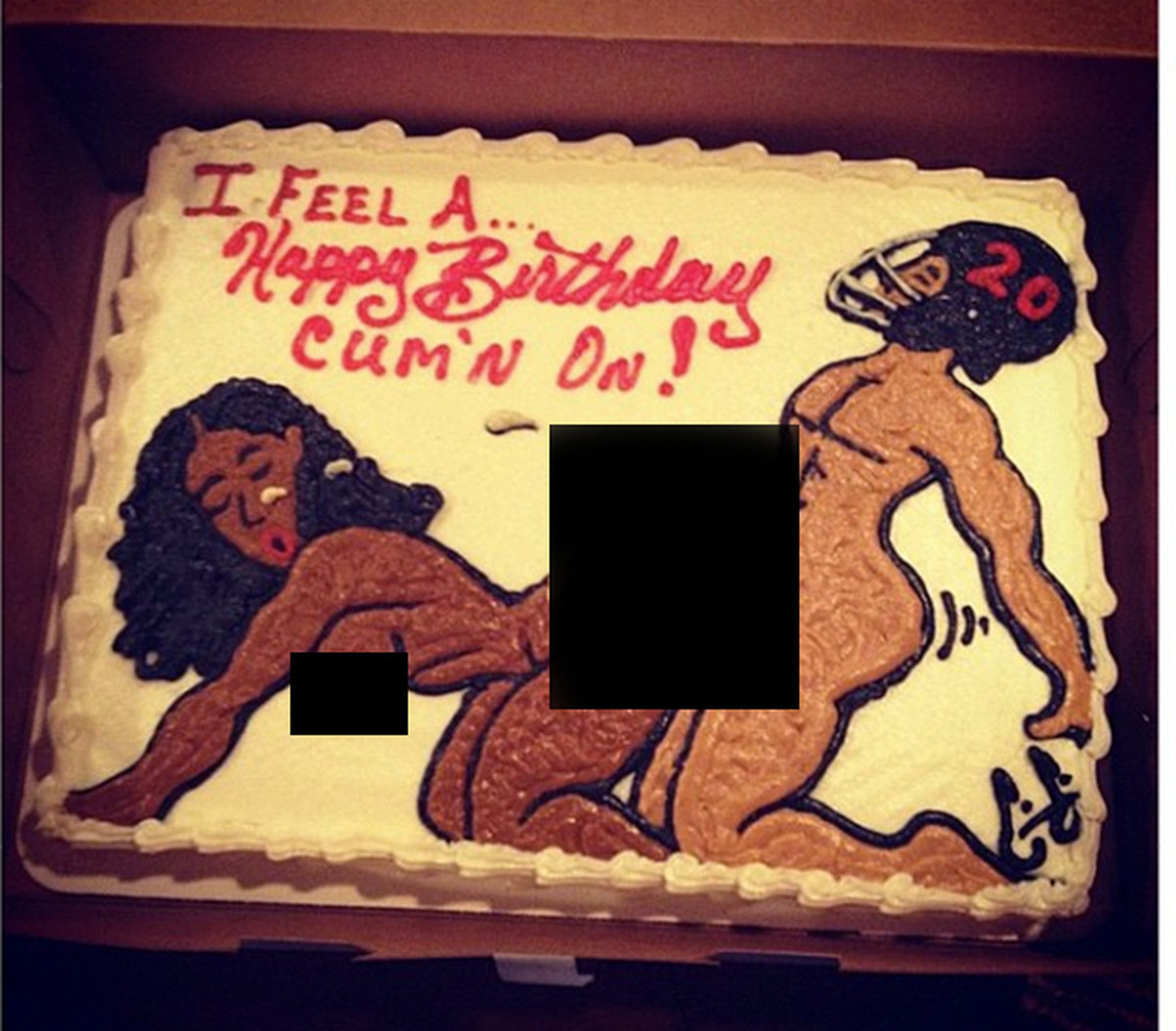 Best ideas about Brent Grimes Birthday Cake . Save or Pin Hating With H8 Miami Dolphins Edition Hogs Haven Now.
