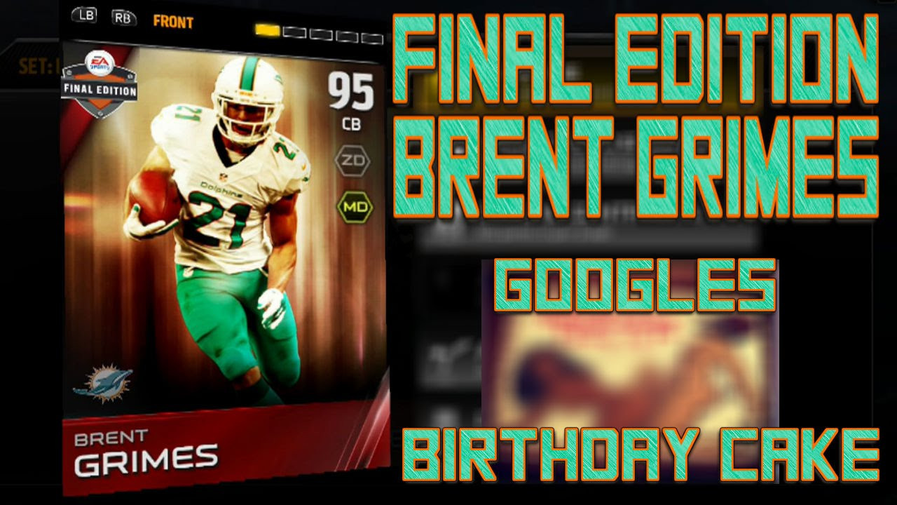 Best ideas about Brent Grimes Birthday Cake . Save or Pin MUT25 Now.