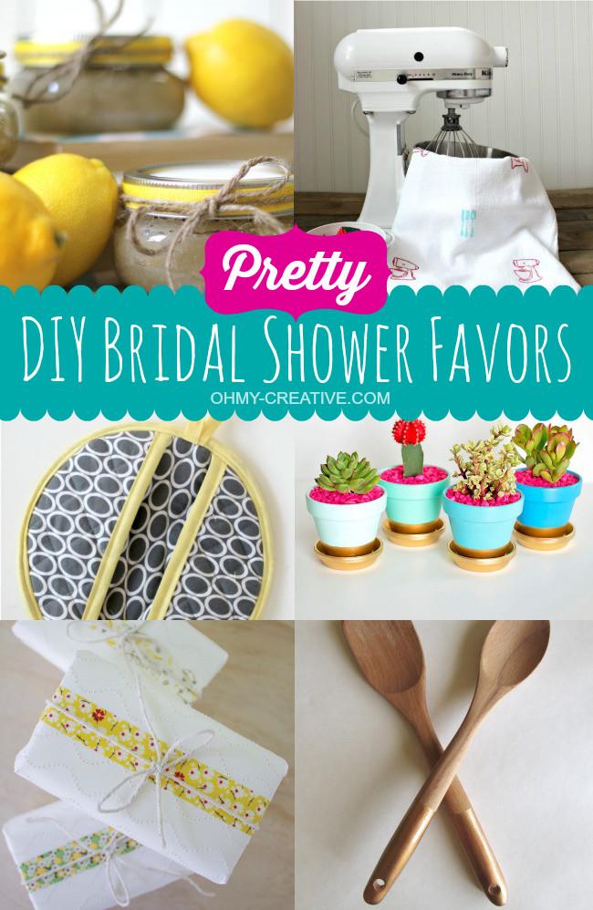 Best ideas about Bridal Shower Favors DIY . Save or Pin Pretty DIY Bridal Shower Favors Oh My Creative Now.