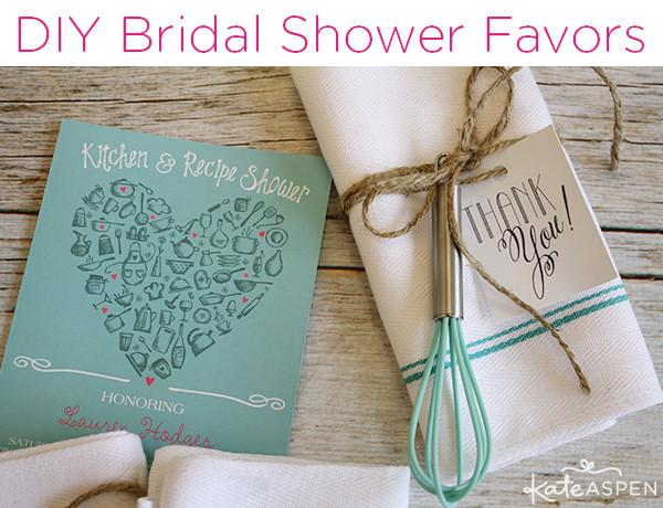 Best ideas about Bridal Shower Favors DIY . Save or Pin DIY Bridal Shower Whisk & Tea Towel Favors Now.