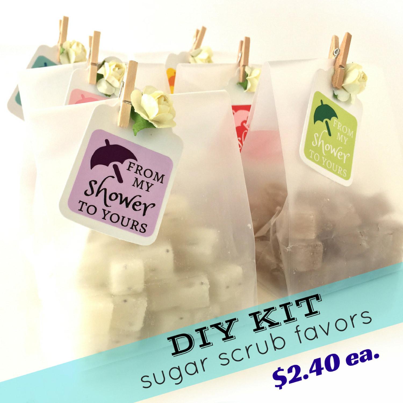 Best ideas about Bridal Shower Favors DIY . Save or Pin DIY KIT Discounted Bridal Shower Favors Mini Sugar Scrubs Now.