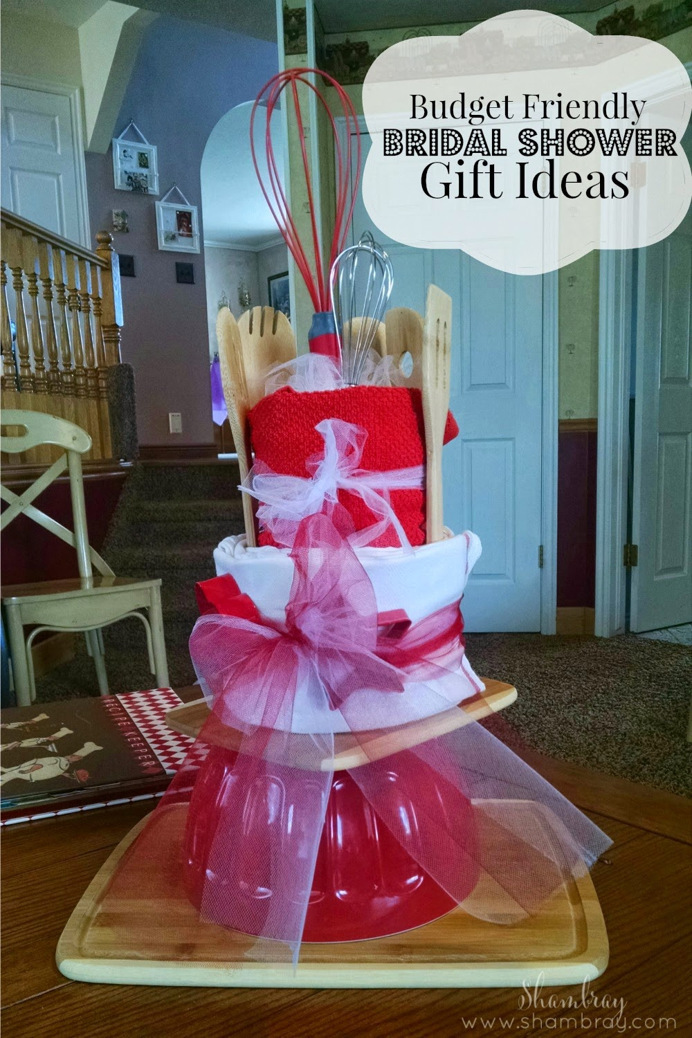 Best ideas about Bridal Shower Gift Ideas . Save or Pin Shambray Bud Friendly Bridal Shower Gift Ideas Now.