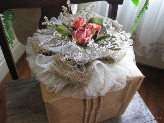 Best ideas about Bridal Shower Gift Wrapping Ideas . Save or Pin Wedding shower wrapping Now.