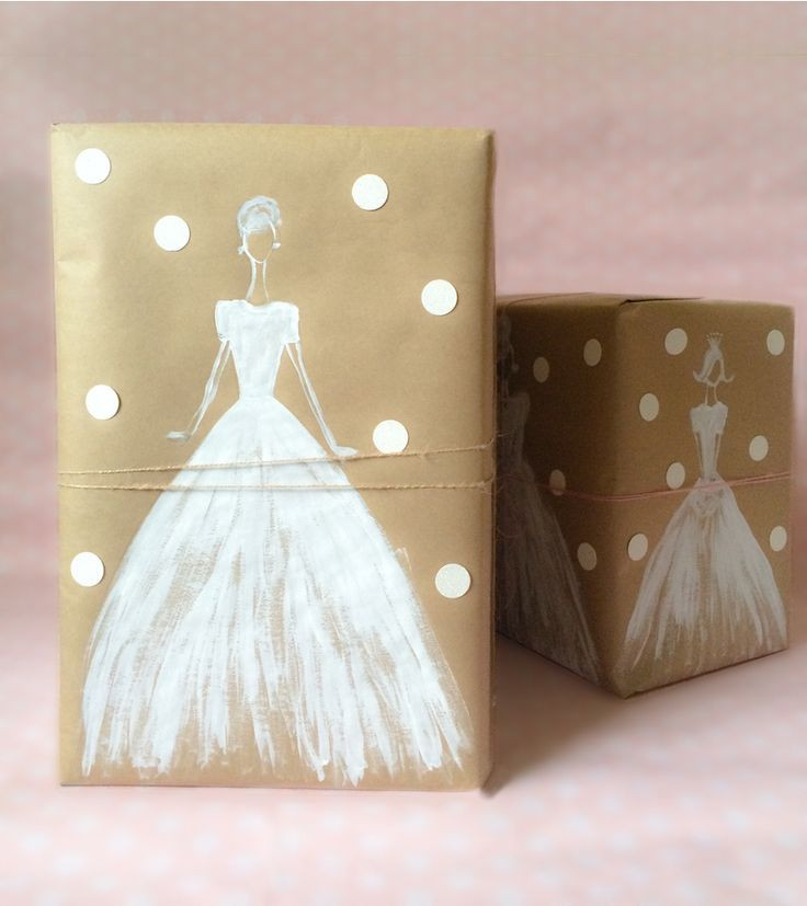 Best ideas about Bridal Shower Gift Wrapping Ideas . Save or Pin Best 25 Kraft paper ideas on Pinterest Now.