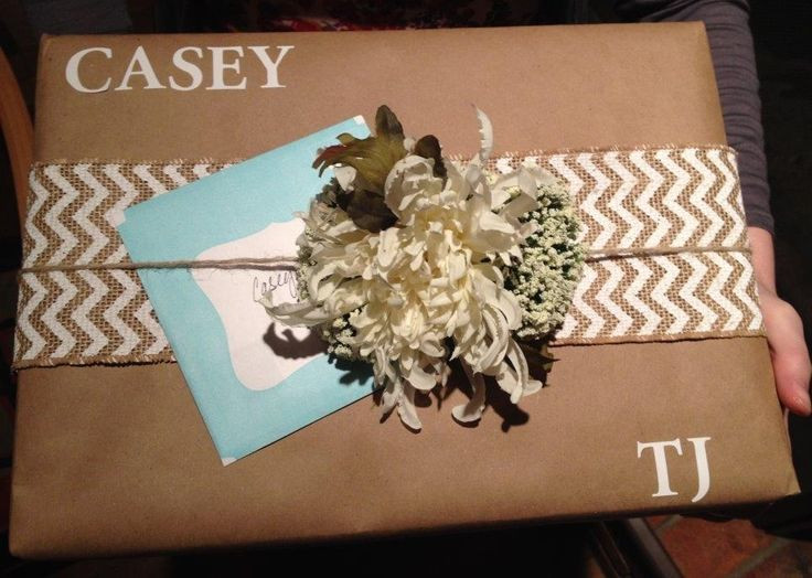 Best ideas about Bridal Shower Gift Wrapping Ideas . Save or Pin Bridal shower t wrapping bridalshower twrap Now.
