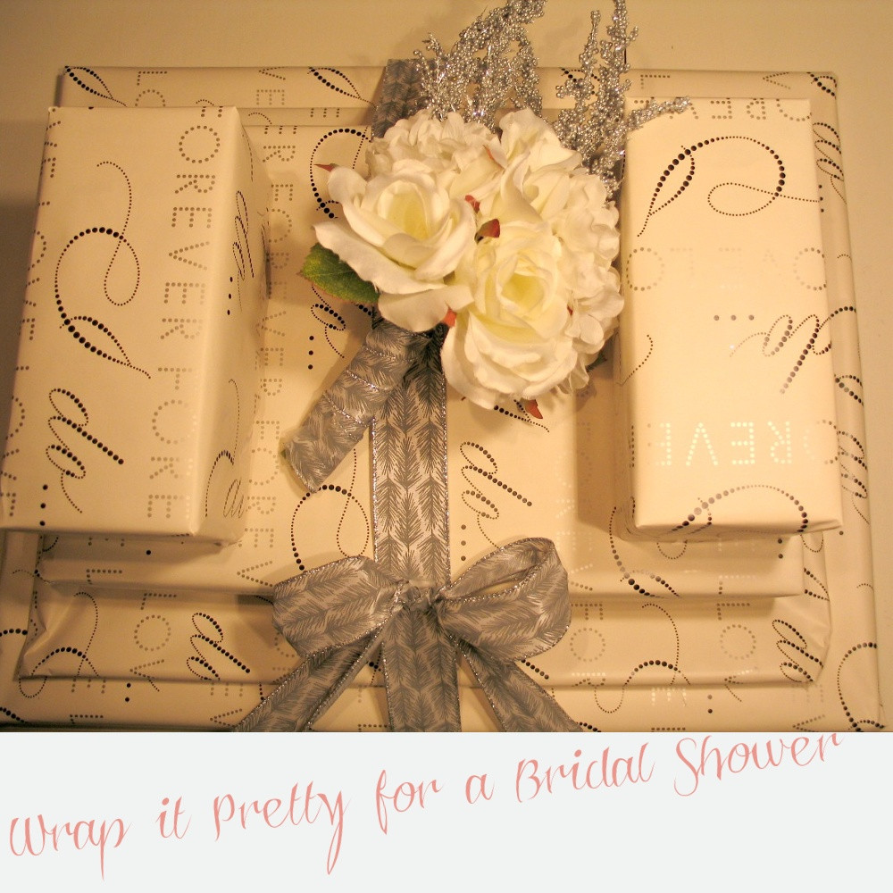 Best ideas about Bridal Shower Gift Wrapping Ideas . Save or Pin Cupcakes & Confetti Bridal Shower Gift Wrapping Idea Now.