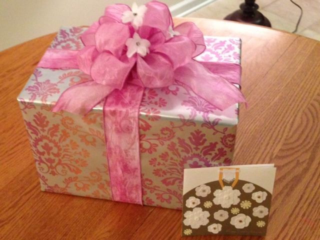 Best ideas about Bridal Shower Gift Wrapping Ideas . Save or Pin Wedding shower t wrap idea Now.