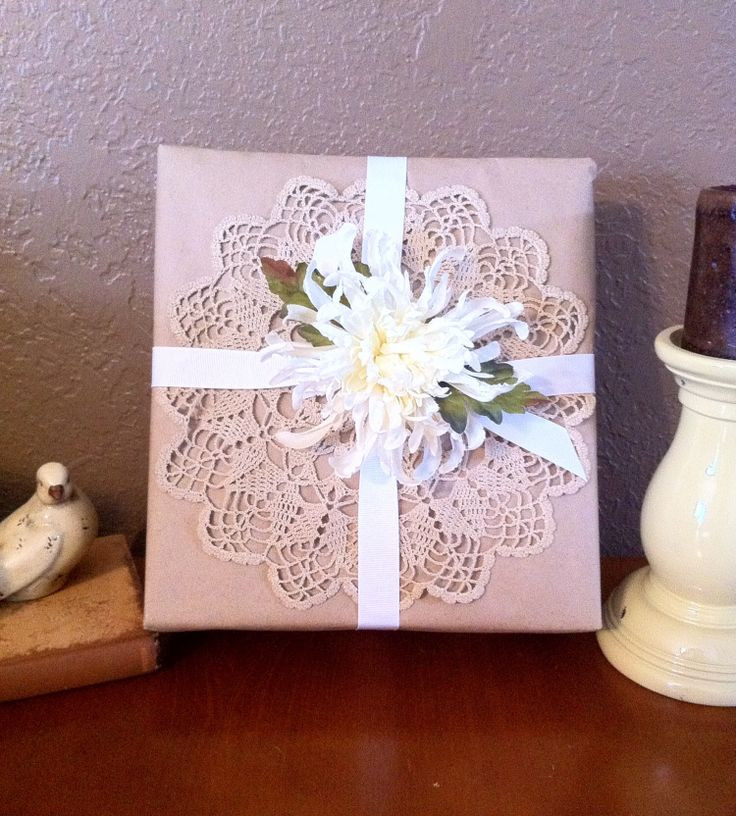 Best ideas about Bridal Shower Gift Wrapping Ideas . Save or Pin 154 best I Made It images on Pinterest Now.
