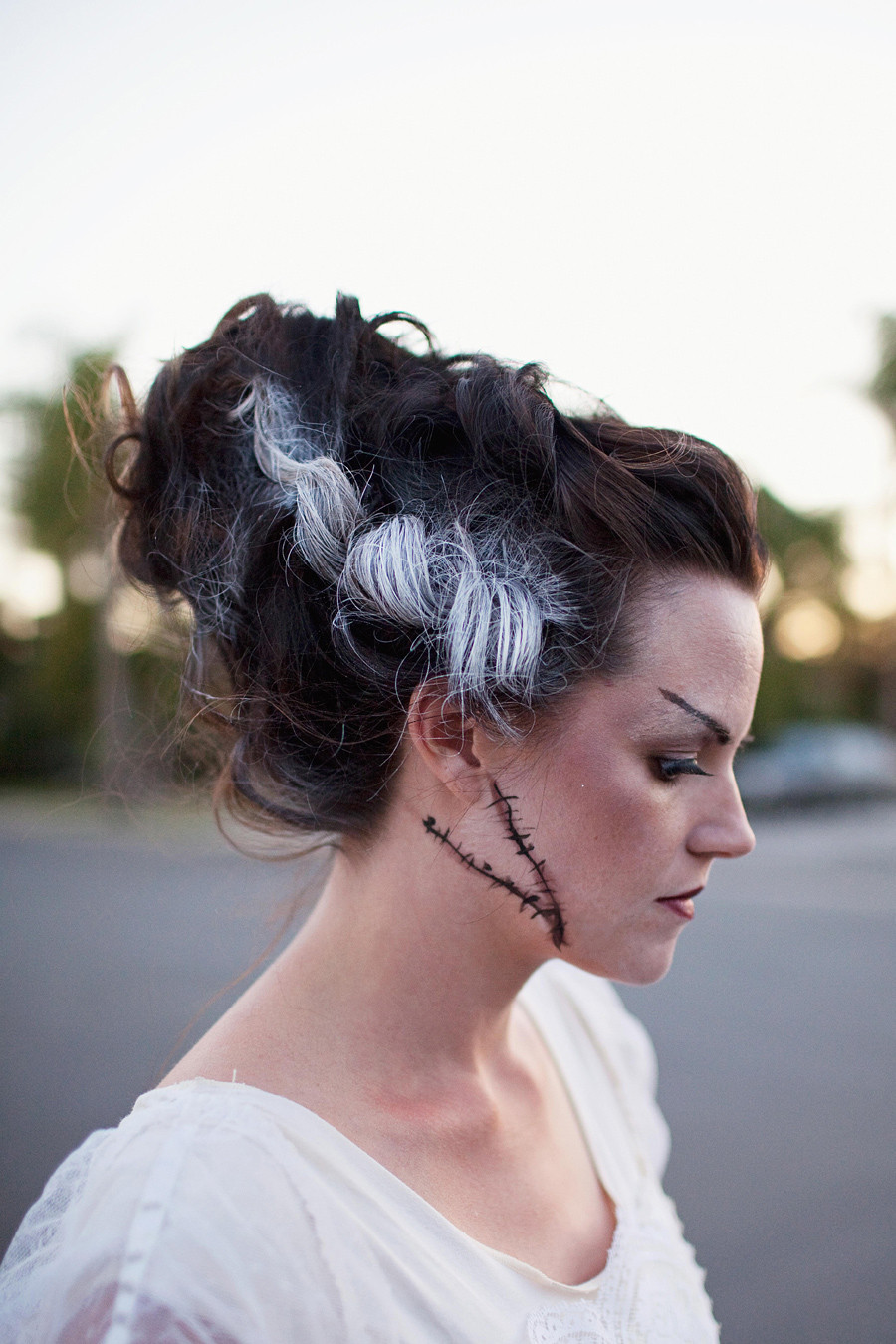 Best ideas about Bride Of Frankenstein Costume DIY . Save or Pin TELL MONSTER FAMILY COSTUME DIY Tell Love and PartyTell Now.
